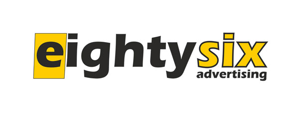 eightysix advertising Mobile Retina Logo